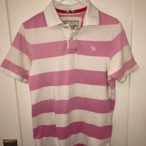 Abercrombie & Fitch muscle fit rugby polo shirt